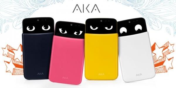 LG AKA พร้อมวางจำหน่ายในประเทศไทยแล้วเสนอราคาเพียง 10,900 บาท มีทั้งหมด 4 สี ตามคาแรกเตอร์ (สีชมพู Yoyo, สีน้ำเงิน Soul, สีขาว Wooky และสีเหลือง Eggy)
