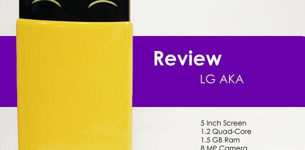 หลังจากที่ผมได้ทดลองใช้ LG AKA สมาร์ทโฟนสื่ออามรณ์น่ารักสนใสมาสักพักหนึ่ง วันนี้ก็ได้มีโอกาศจะมารีวิวให้ได้ชมกัน